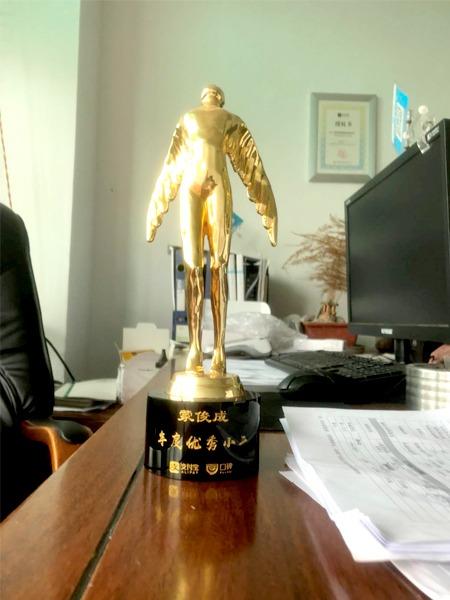 蚂蚁联盟年度优秀小二奖