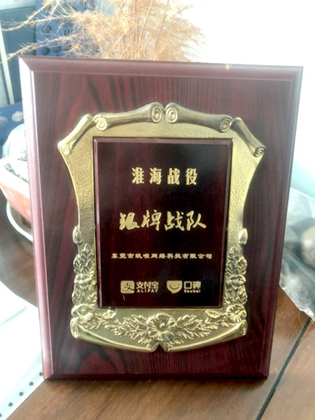 蚂蚁联盟银牌战队奖